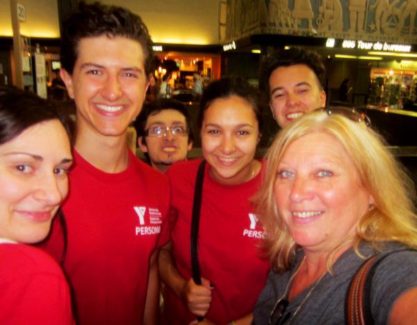 SWSE Quebec Staff Selfie!
