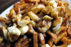 Who doesn't love a hot piping bowl of poutine?!