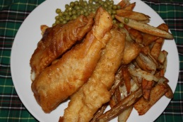 Fish and Chips from Newfoundland.  Poisson-frites, Terre-Neuve.