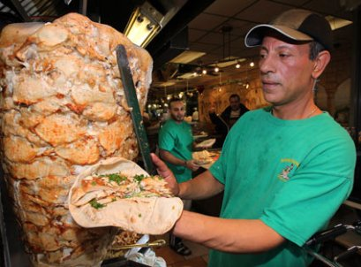 Chicken Shawarma, a favourite in the nation's capital of Ottawa.