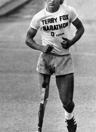 Terry Fox (Source: Associated Press)