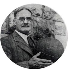 James Naismith.