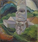 A Skidegate Beaver Pole (1941-1942). Source: Vancouver Art Gallery/Canadian Virtual Museum.