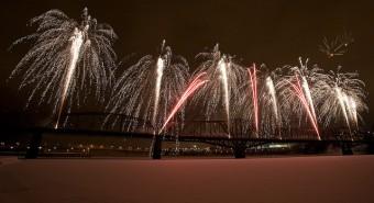 Fireworks in Ottawa | Feux d'artifices à Ottawa