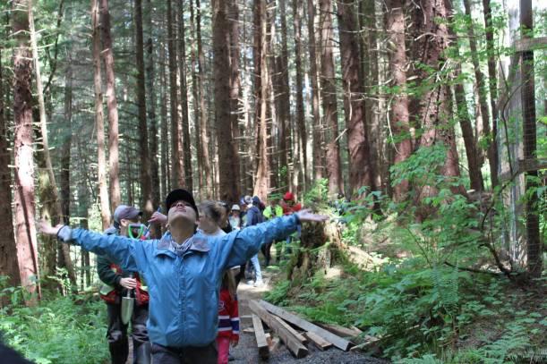 YEC - Haida Gwaii Day 1 Arms open