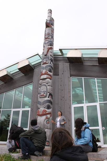 YEC - Haida Gwaii Day 1 Learning at Heritage Center