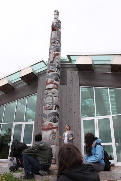 YEC - Haida Gwaii Day 1 Learning at Heritage Center