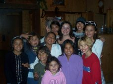 Picture of Nicole and her friends on exchange a decade ago